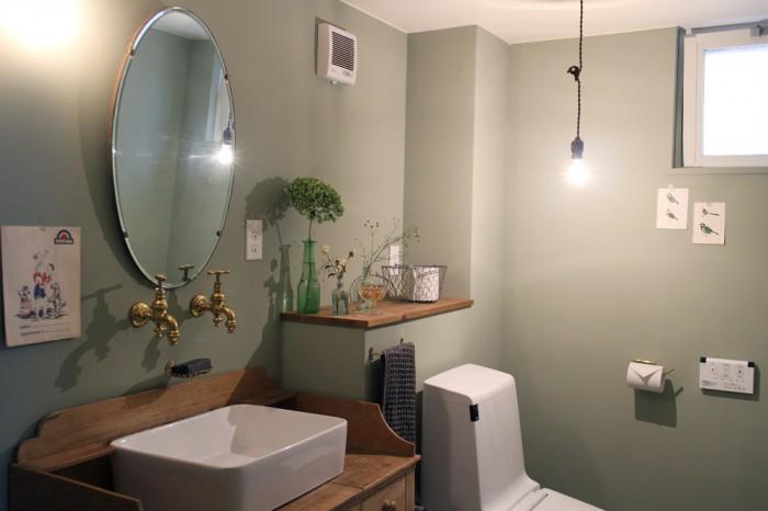 トイレには機能とデザインを調和させる提案。