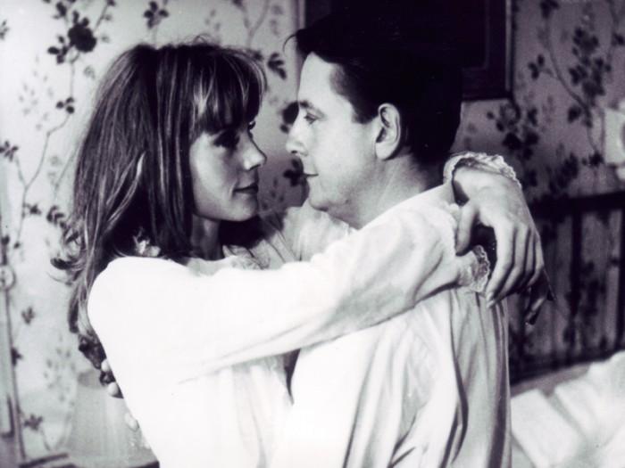 『柔らかい肌』 La Peau douce フランソワーズ・ドルレアック、ジャン・ドサイ、1964 / 116分 / モノクロ / 35mm © 1964 LES FILMS DU CARROSSE