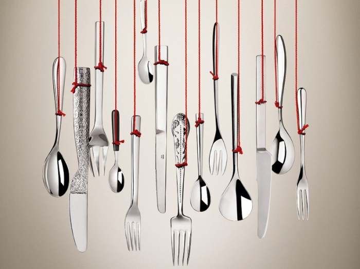 "ALESSI LAB #4 – The Cutlery Lab ""CLOSE YOUR EYES and KISS YOUR CUTLERY"""