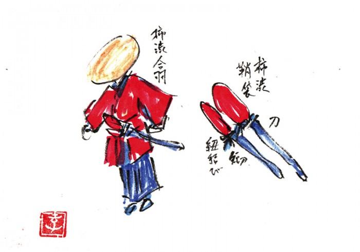 『柘榴坂の仇討』 桜田門へ向かう一行。かなりの人数の警護がいたのですが、刀を抜くことなくみな切られます。