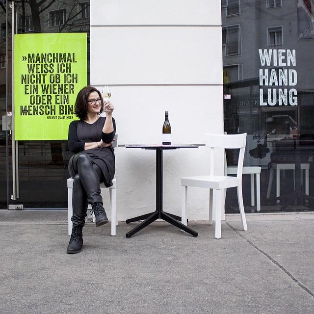「ウィーンのおいしいもの、楽しいものを紹介していきたい」と話すビアンカ。