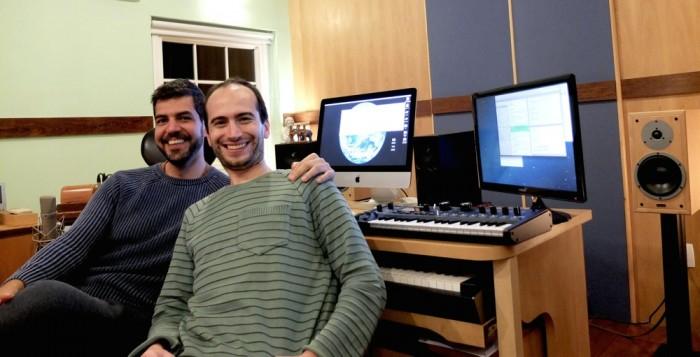 アンドレ・メマーリ(左)とフランソワ・モラン