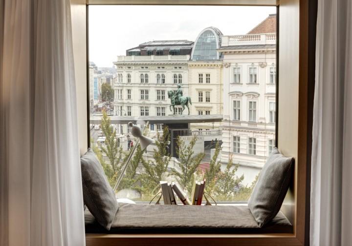 クオリティワインを生む首都、ウィーンで、ワインカルチャーを体験。その3お部屋でもワイン三昧、ワイン専門ホテルって?
