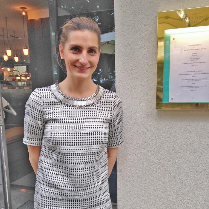 広報担当のデニースは、ウィーン1区出身の生粋のウィーンっ子。