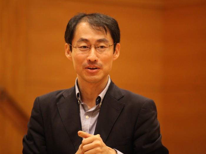 エル・システマジャパン 代表理事 菊川穣さん。「子どもたちが、『楽しい!』と言って通える場所があればいい」。発足から間もなく3年。地域に寄り添う姿勢は、いまも変わりません。