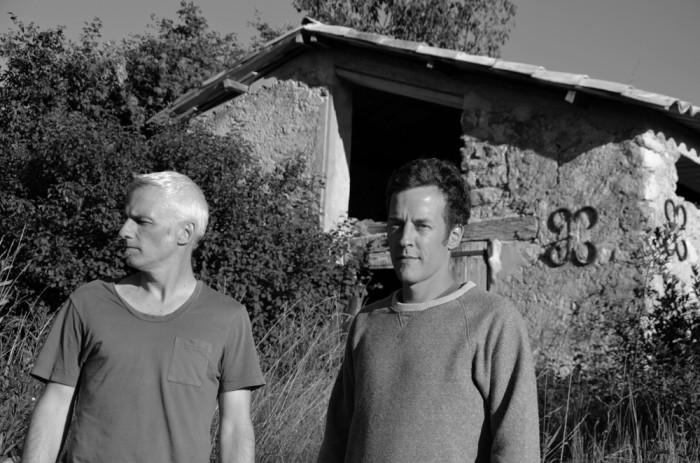 クリス・フーソン(左)とクエンティン・サージャック