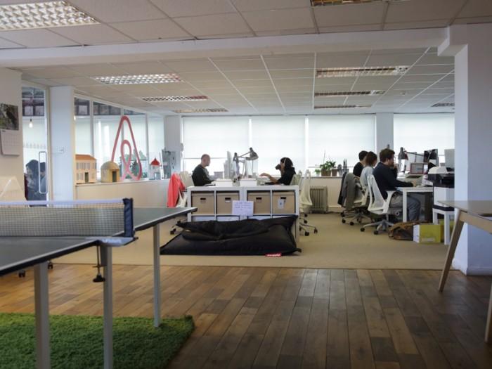 イースト・ロンドン ショーディッチ グレート・イースタン・ストリートにある『Airbnb』ロンドンオフィス。