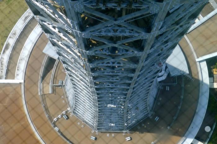 展望台の覗き窓から10角形の証明。