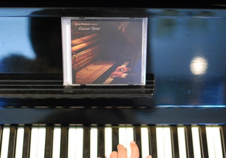 『Quiet Moments - Piano Tone』発売。十人十色のピアノの音に耳を澄まして。