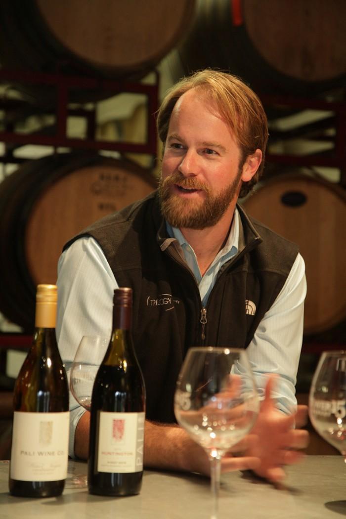 ワイン・メーカーのアーロン・ウォーカー