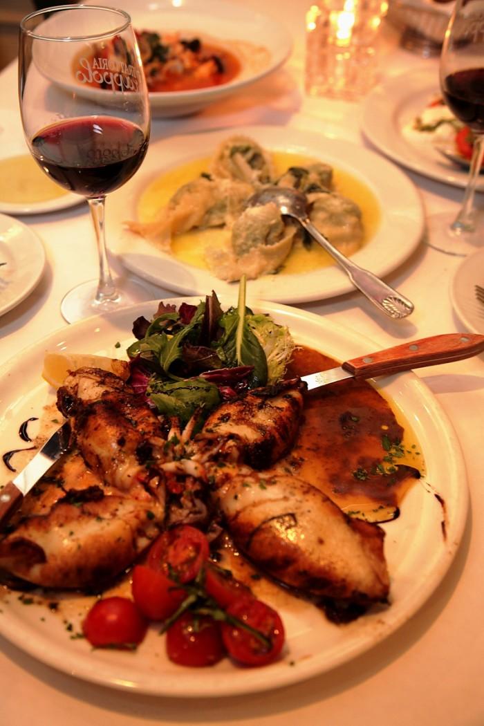 魚介系の多いイタリアンだってピノ・ノワールがあれば問題なし