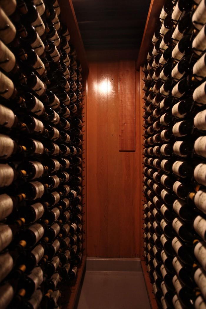 1965年以降のワインは全てストックしてあるライブラリー・コレクション