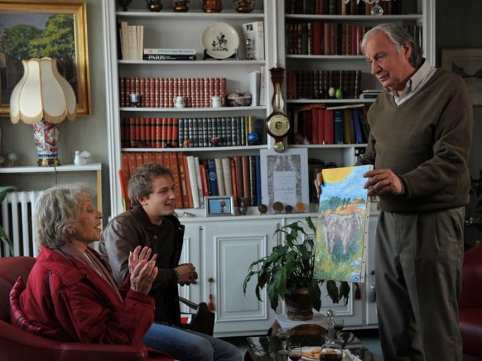 マドレーヌの85歳の誕生日、ロマンからのサプライズが。お気に入りの画家を突撃訪問するのだ!