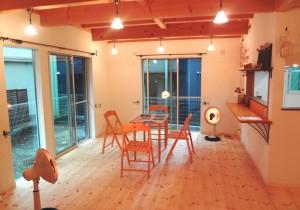 深瀬鋭一郎のあーとdeロハスフランスの民家カフェ風の 新しい家に引っ越しました。