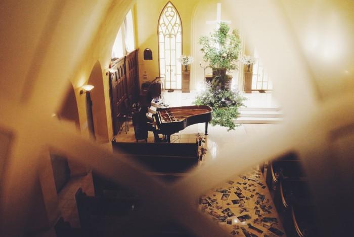 小瀬村晶 in ル・アンジェ教会