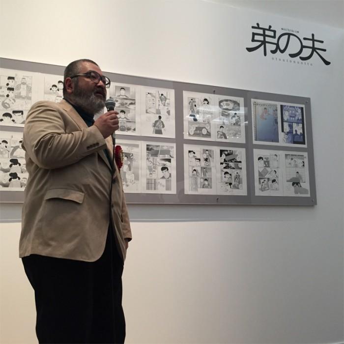 マンガ部門優秀賞受賞『弟の夫』田亀源五郎。ホモ・セクシャルである弟とそのパートナーの暮らしを兄が見つめる『月刊アクション』』(双葉社)で連載中。©TAGAME Gengoroh / Futabasha