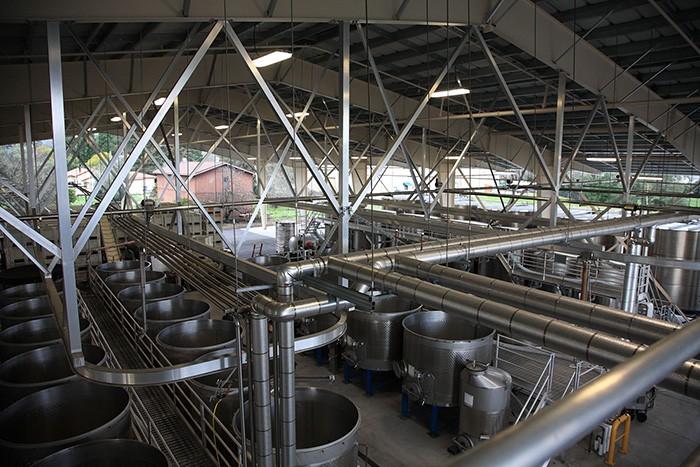2015年、発酵スペースが一新された