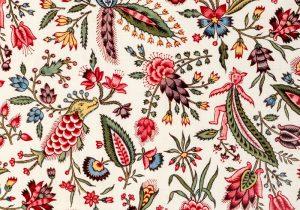 軽やかで可愛らしい テキスタイル『西洋更紗 トワル・ド・ジュイの世界』