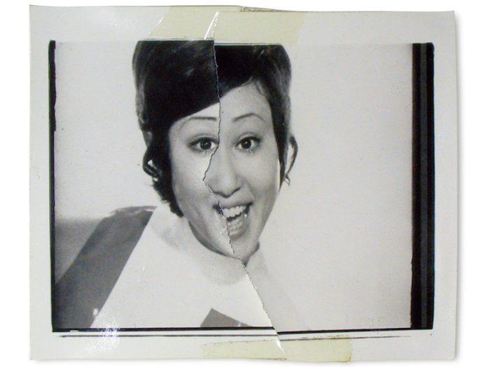 荒木経惟『切実 』1972年、ゼラチン・シルバー・プリント 粘着テープ ©Nobuyoshi Araki UBS Art Collection