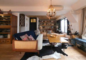 dacapo×TOKOSIE民藝、北欧、アンティーク……吟味を重ねた部屋作り