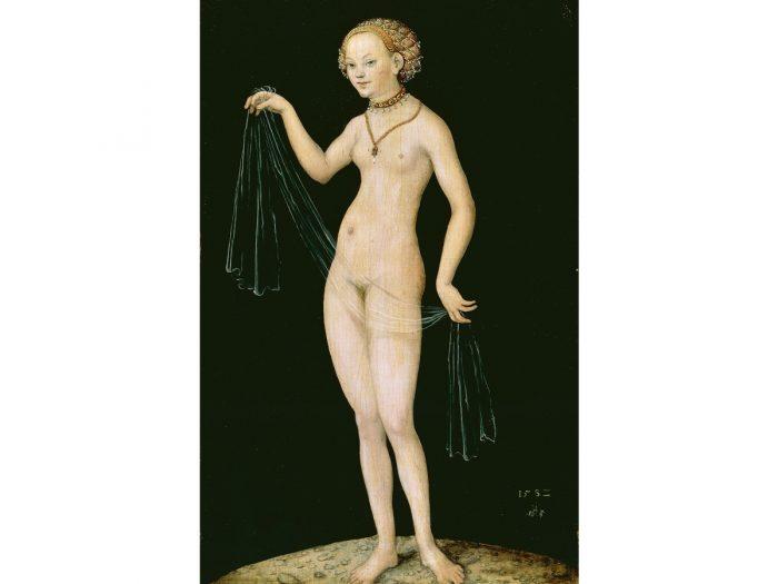 『ヴィーナス』1532年、油彩 / 板、37.7cm×24.5cm、フランクフルト、シュテーデル美術館 © KHM-Museumsverband.